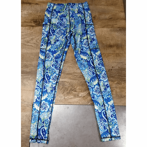 Double Pocket Pants cold gear magic blue-stocked