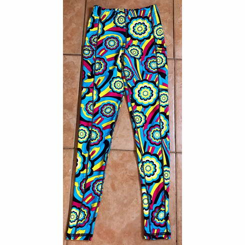 Double pocket pants cold gear spirograph STOCKED