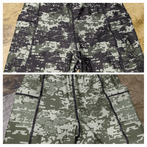 Double Pocket Pants Digital Camo