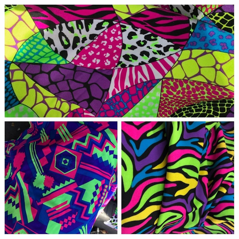 Double Pocket Pants Neon Options