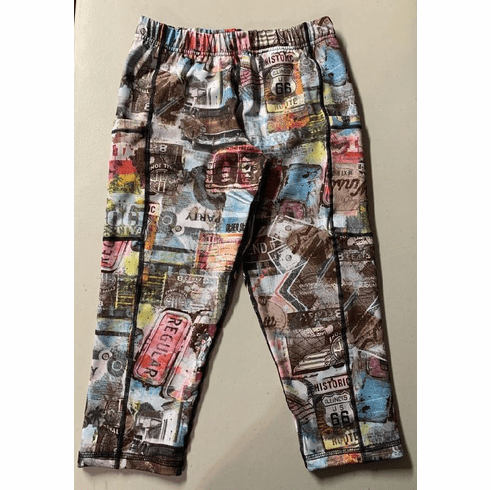 Double pocket pants Route 66 COLD GEAR