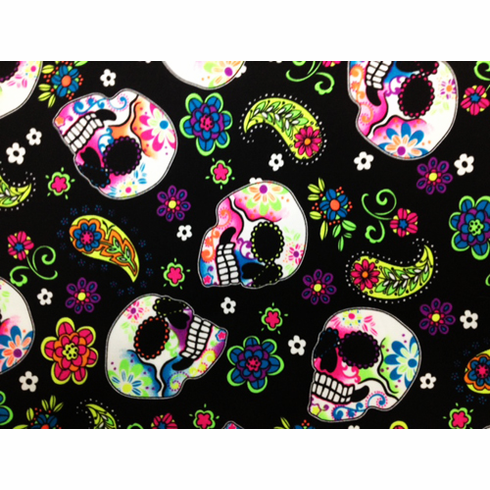 Double Pocket Pants Sugar Skulls