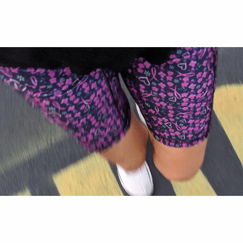 Double Pocket Shorts Breast Cancer
