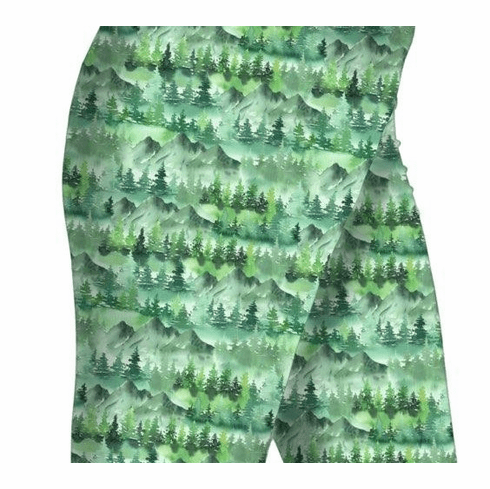 Double pocket shorts forest