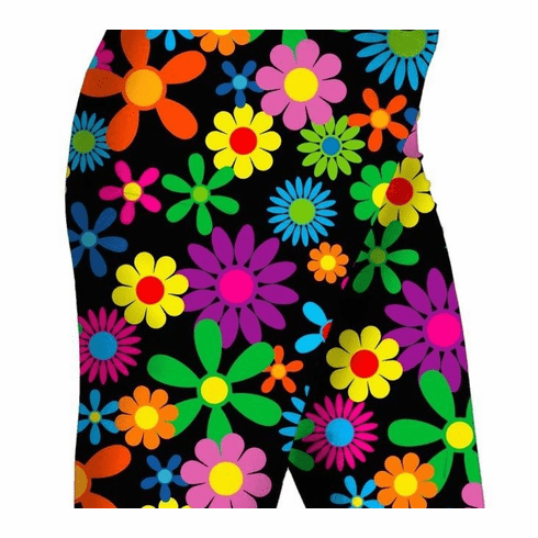 Double pocket shorts hippie flower