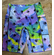 Double pocket shorts Meltdown paw print close out