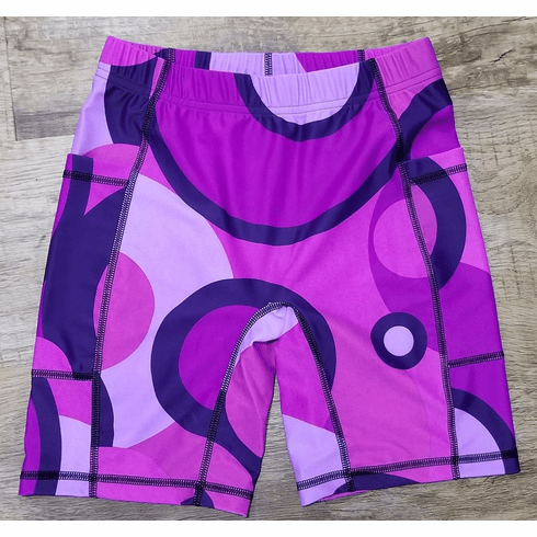 Double pocket shorts purple sphere