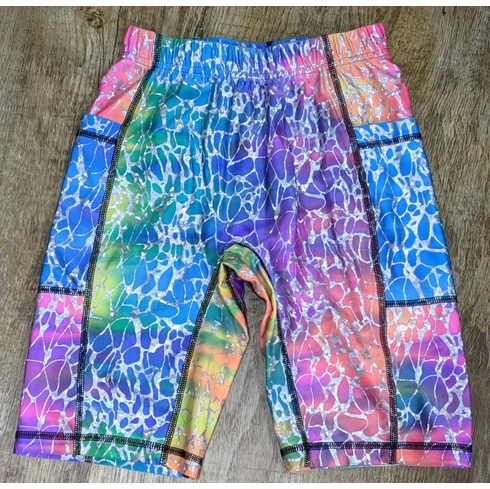 Double Pocket Shorts Rainbow Reflections