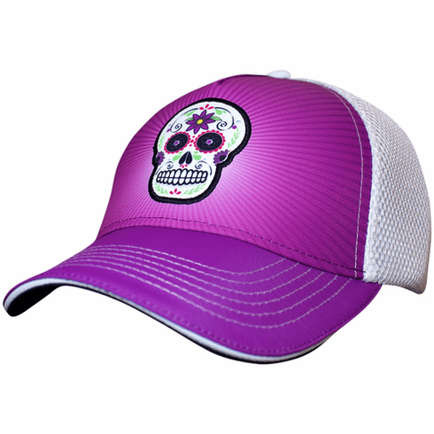 Headsweats Trucker Purple Sugarskull
