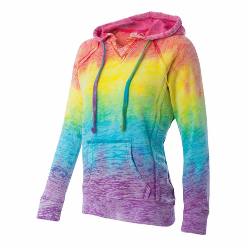 Hooded Sweatshirt Rainbow