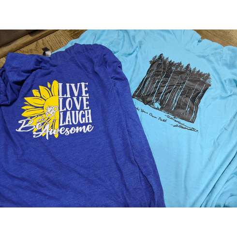 Live Love Laugh or Follow you path hoody