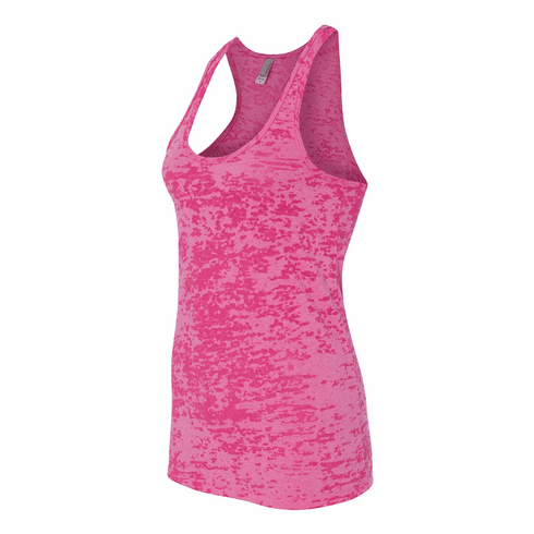 Burnout tank Shocking Pink