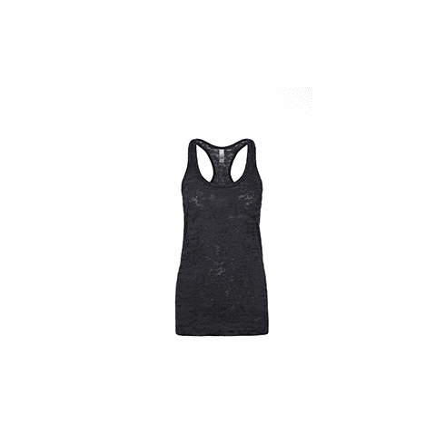 Burnout tank black