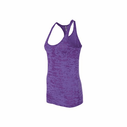 Burnout tank purple