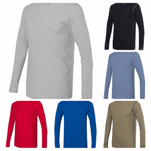 Tops Unisex thermal long sleeve shirts
