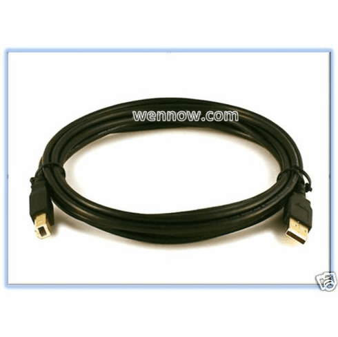 10ft Printer USB2.0 A Male to B Male Cable(Gold Plated)
