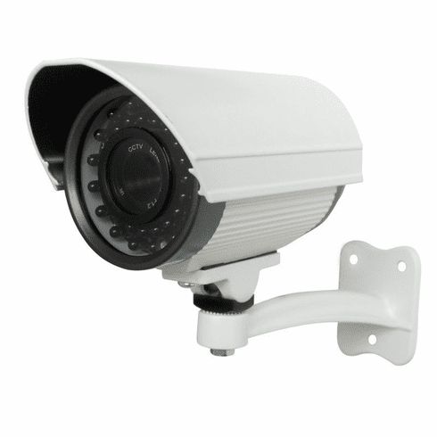 130ft Night Vision Long Range Outdoor CCD Security Camera w/12mm Lens