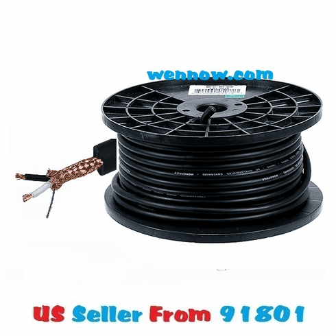 16 AWG 8.0mm Professional Microphone Bulk Cable - 100FT