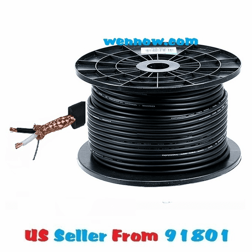 16 AWG 8.0mm Professional Microphone Bulk Cable - 250FT