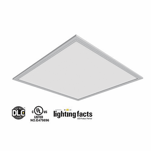 2pack UL DLC 105 lm/W 40W 4000K LED Drop Ceiling 2x2' DimmablePanel Light