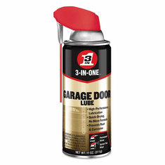 3-IN-ONE Professional Garage Door Lubricant with SMART STRAW SPRAYS 2