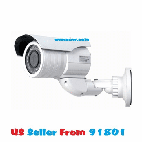 540TVL 3.7-14mm Lens Color CCD Camera-70ft Night Vision