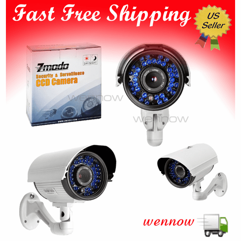 650 TVL High Resolution 80ft IR CCD Outdoor CCTV Security Camera