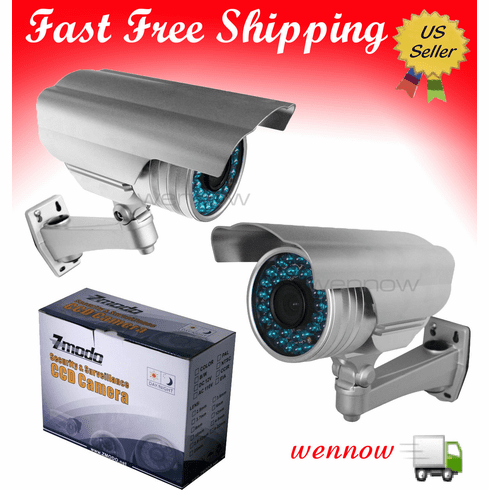 650 TVL High Resolution Vari-focal Outdoor Security Camera with 130ft