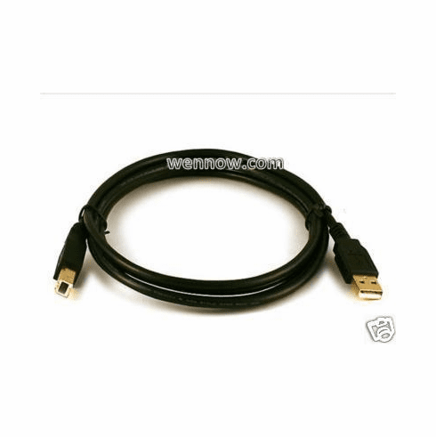 6ft USB 2.0 A Male to B Male Cable(Gold Plated) w22