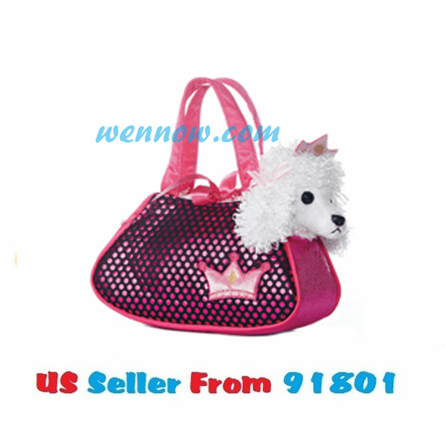 "7"" PRINCESS BLING PET CARRIER"
