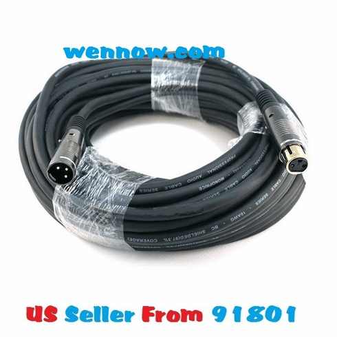 75ft Premier Series XLR Male to XLR Female 16AWG Cable