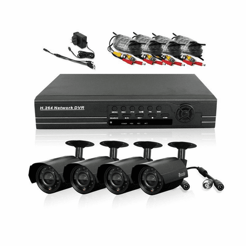 8 CH CCTV Security Day & Night Vision Camera DVR System 500BG PKD-DK80  PKD-DK80207-500GB