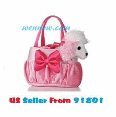 """8"""" LOTS OF PINK PET CARRIER"""