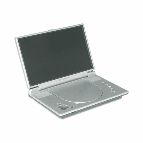 "Accurian 10"" 16-136 Portable DVD Player - with SD/MMC Card reader"