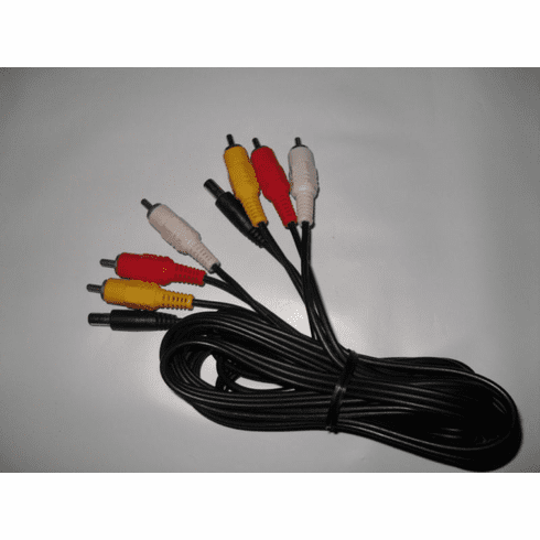 Audiovox Dual Screen DC- AV Cable for PVS72901 TouDaTouxiao
