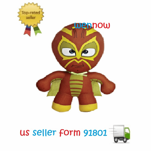 Aurora 8-inch Lucha Libre Soft Toy (Bug Man) 33011