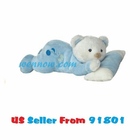 "Aurora Plush 10"" Sweet Baby Boy Lying With Squeaker"