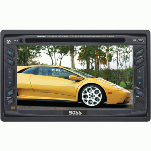 """Boss BV9055 6.2"""" Double DIN Touch Screen In-Dash TFT Monitor"""