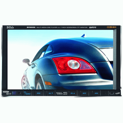 """Boss BV9555 7"""" Double-DIN Touch Screen Widescreen Monitor/Receiver"""
