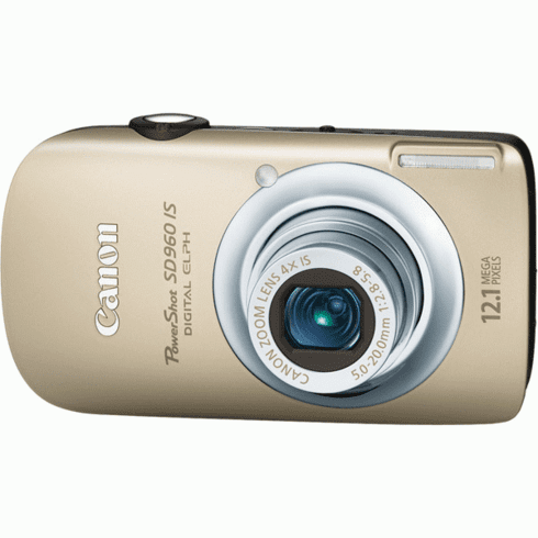 Canon SD960 IS GL Gold 12MP Compact Digital Camera