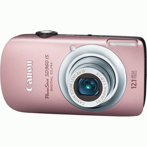 Canon SD960 IS PK Gold 12MP Compact Digital Camera
