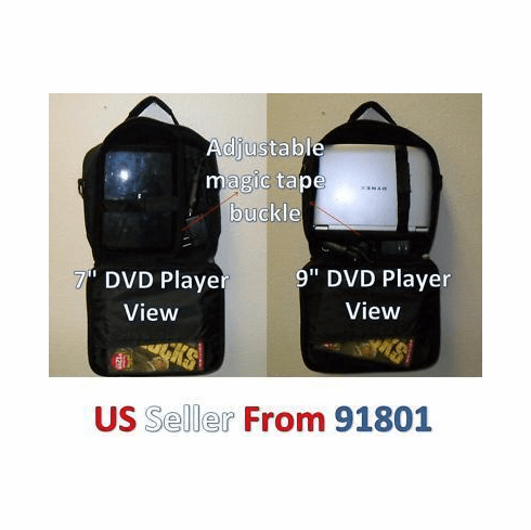 "***Carrying Case for Portable DVD Players upto 9"" w17"