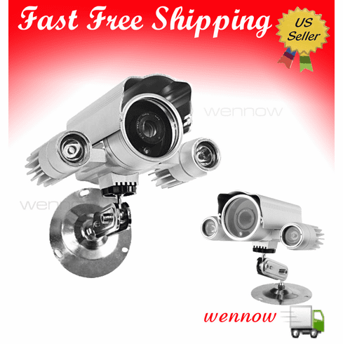 CCTV 650TVL High Resolution 330ft IR Long Range Security CCD Camera