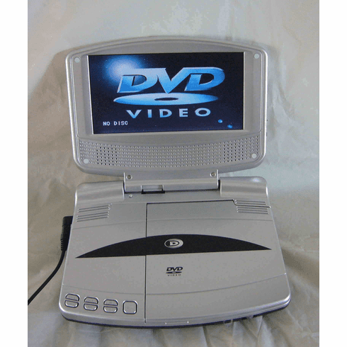 "Durabrand 7"" Portable DVD Player DUR7"