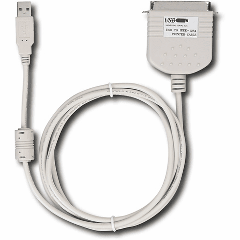 Dynex - 6' USB-Parallel Printer Cable Model DX-UBPC