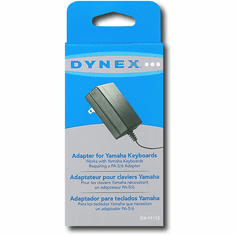 Dynex DX-C1109 AC Adapter for Select Yamaha Keyboards