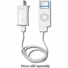 Dynex-Wall Charger for iPod & MP3 Players - White-Model DX-IPAC2