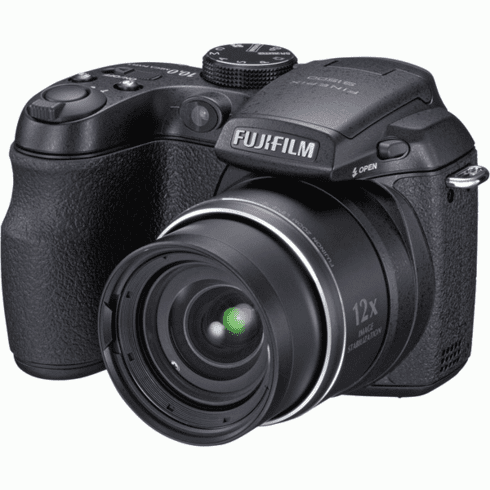 "Fujifilm FINEPIXS1500FD 10MP Camera with 12x Optical Zoom and 3.0"" LCD"
