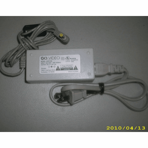 GoVideo ADPV18A 9V 2.2A AC Power Adapter