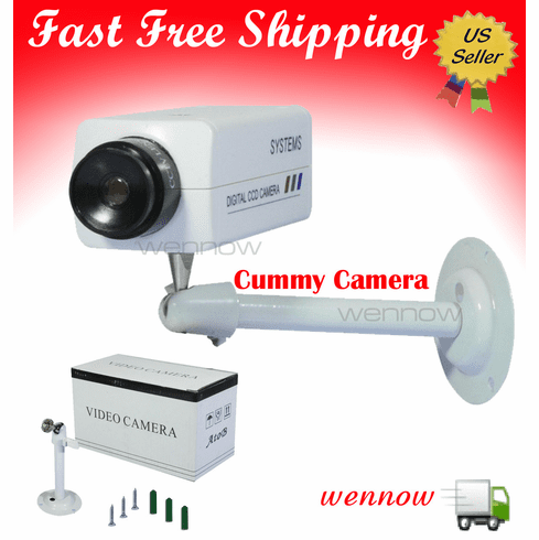 Indoor Home Fake Dummy CCTV Camera with No Power Required CM-D10000